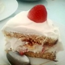 Paleo and SCD Friendly Creamy Fraisier Cake