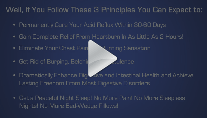 Video about heartburn and acid reflux