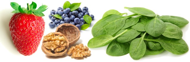 Some different types of superfoods
