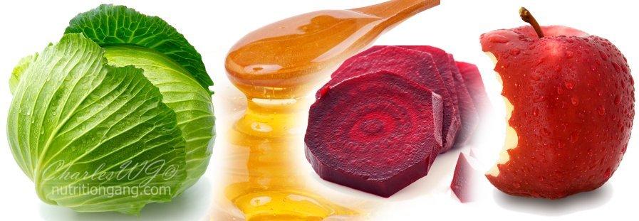 cabbage-honey-beetroot-apple